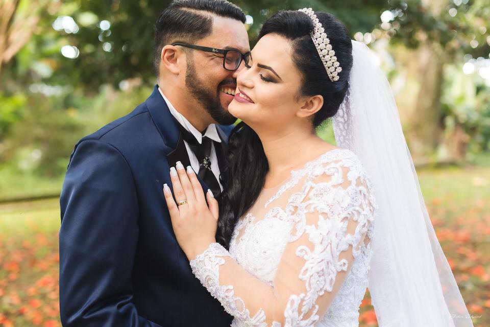 Ensaio romântico no casamento Poá- SP