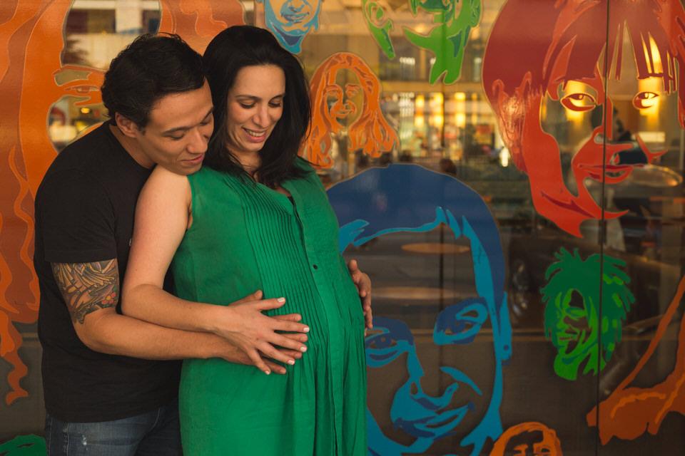 Ensaio de grávida da Lívia esperando seu bebê