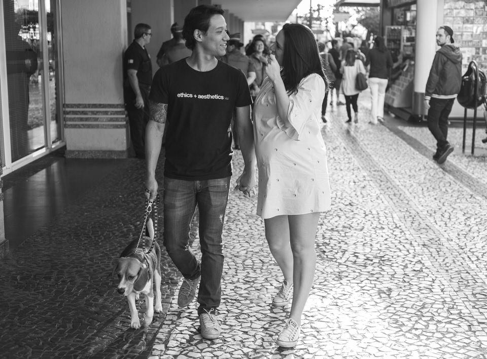 Ensaio Gestante Livia na Avenida Paulista em SP