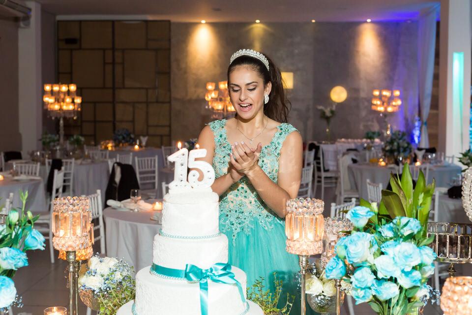 festa debutante Stefanie no espaço ágappe em SP