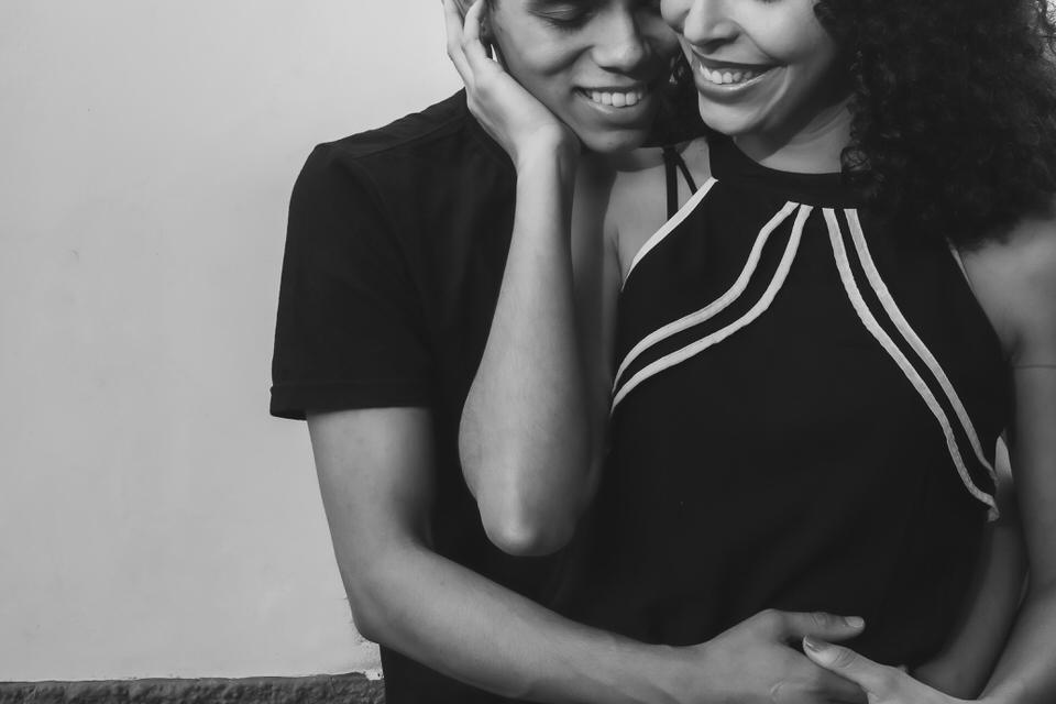 ensaio fotográfico de casal da Maíra e Isaías no Horto Florestal- SP