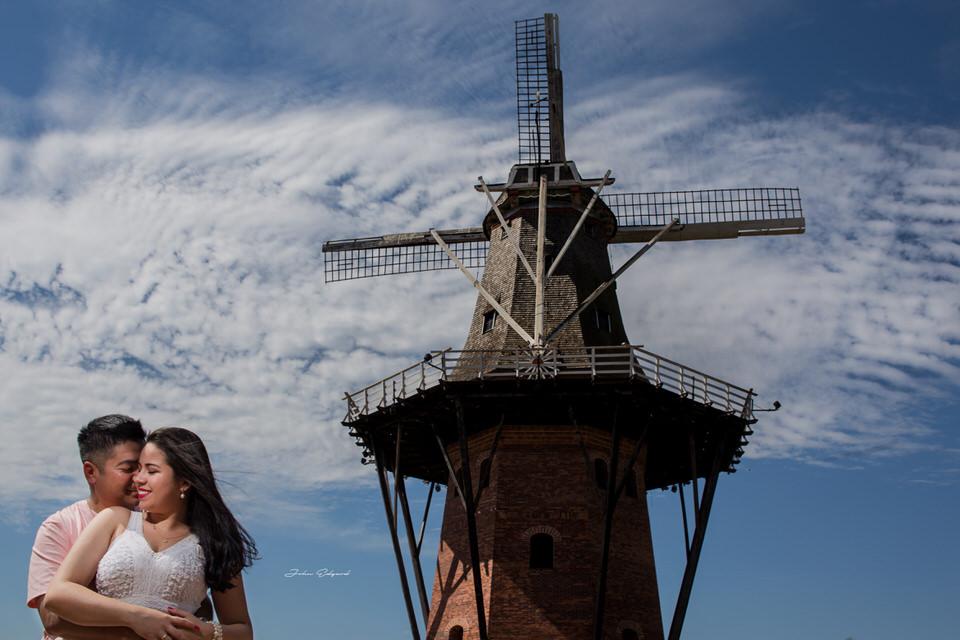 ensaio pré wedding Vagna e Eduardo em Holambra - SP