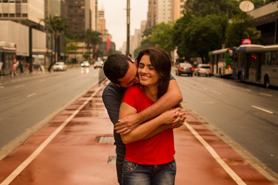 pré wedding Caroline e Bruno em São Paulo, casamento em sp