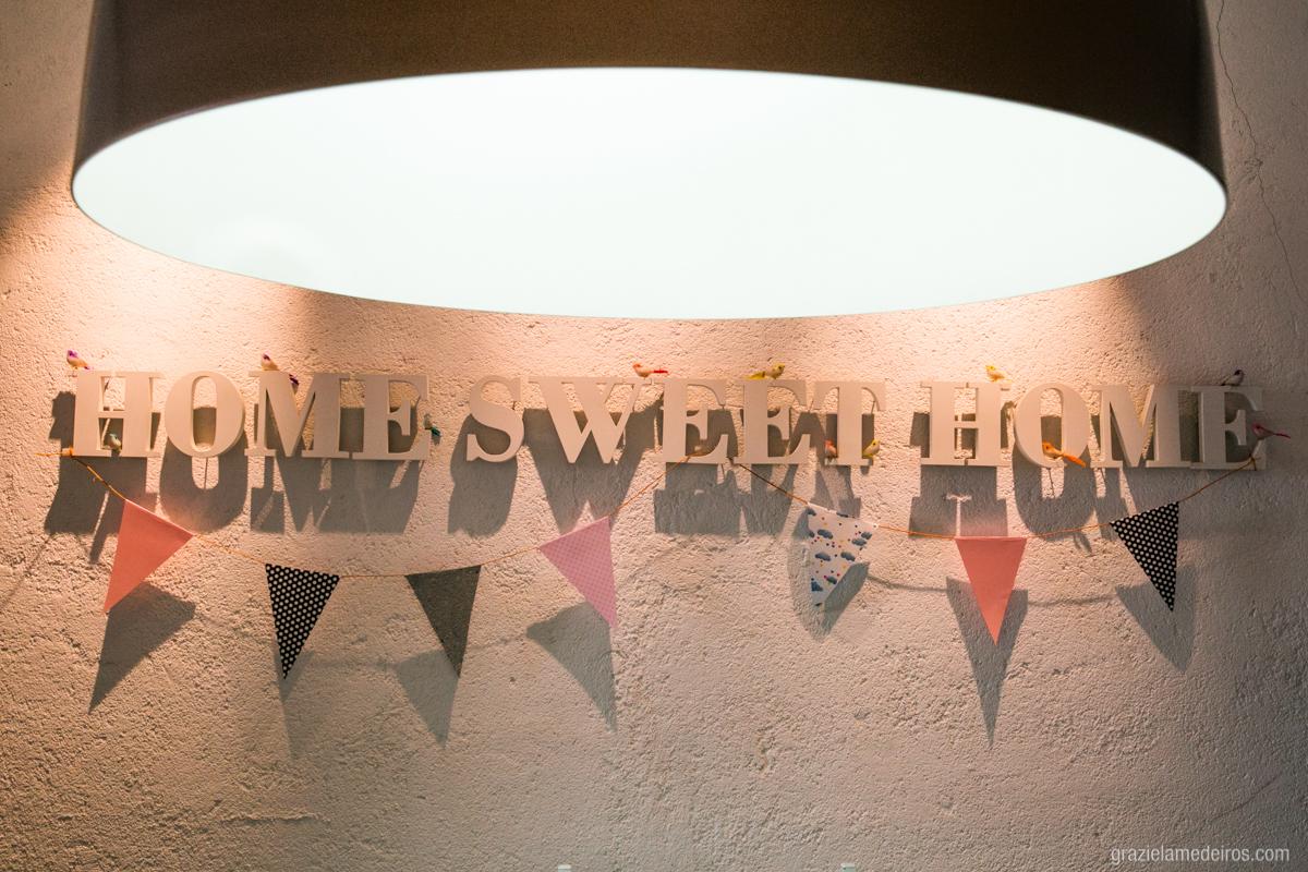 decoraçao de aniversario home sweet home