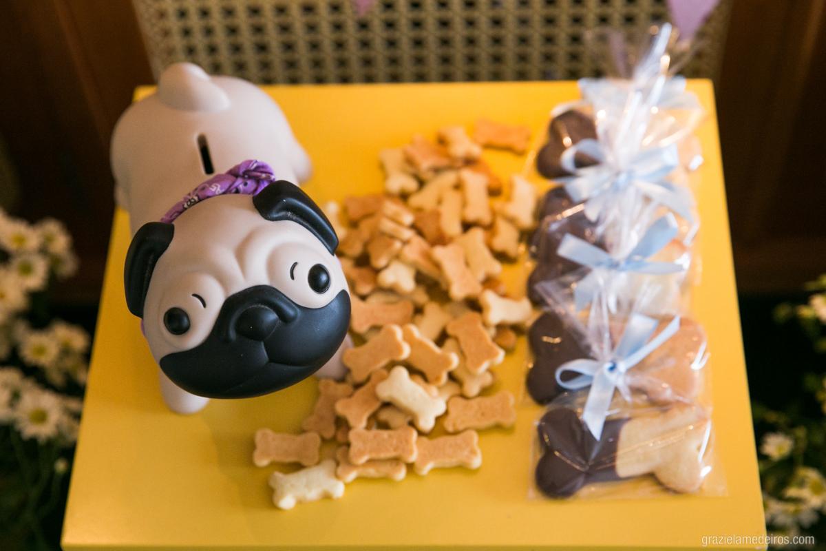 cachorro como objeto de decoraçao em aniversario infantil em guaxupe