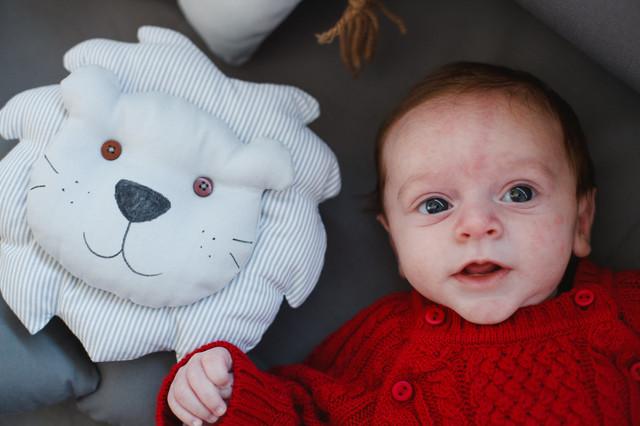 Bebês de Ensaio de fotos em casa