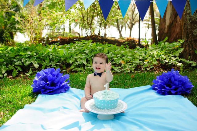 Infantil de Ensaio Smash the Cake