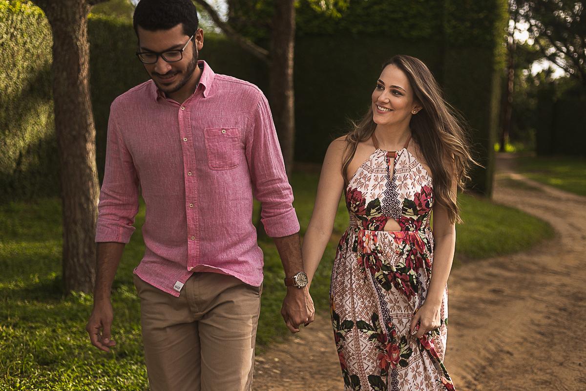 Ensaio Casal Pre wedding na Coudelaria Souza Leão de Rebeca e Omena