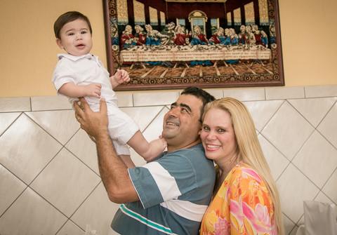 Batizado de Luiz Gustavo