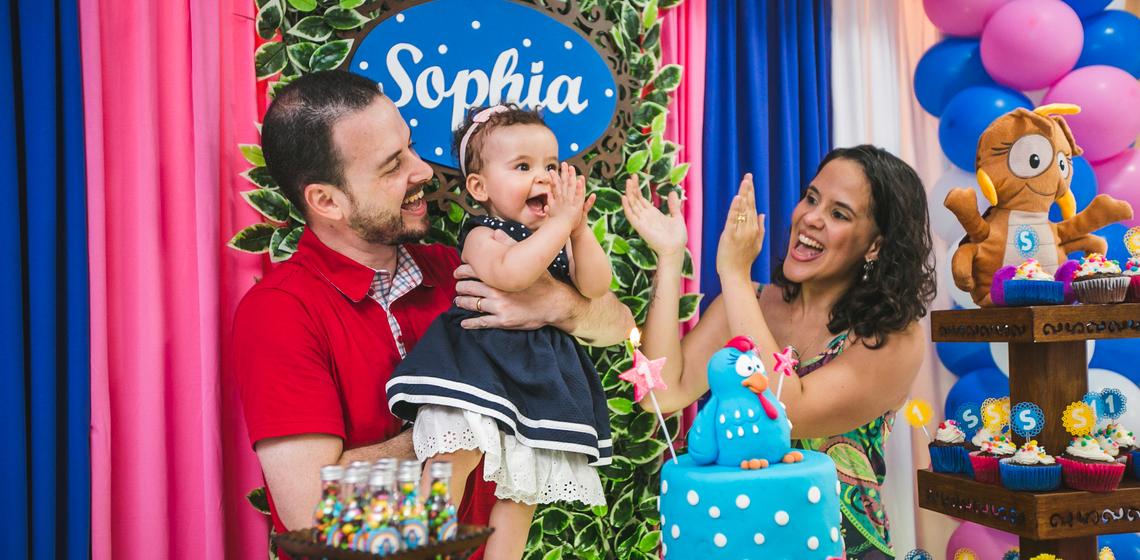 Sophia - 1 ano