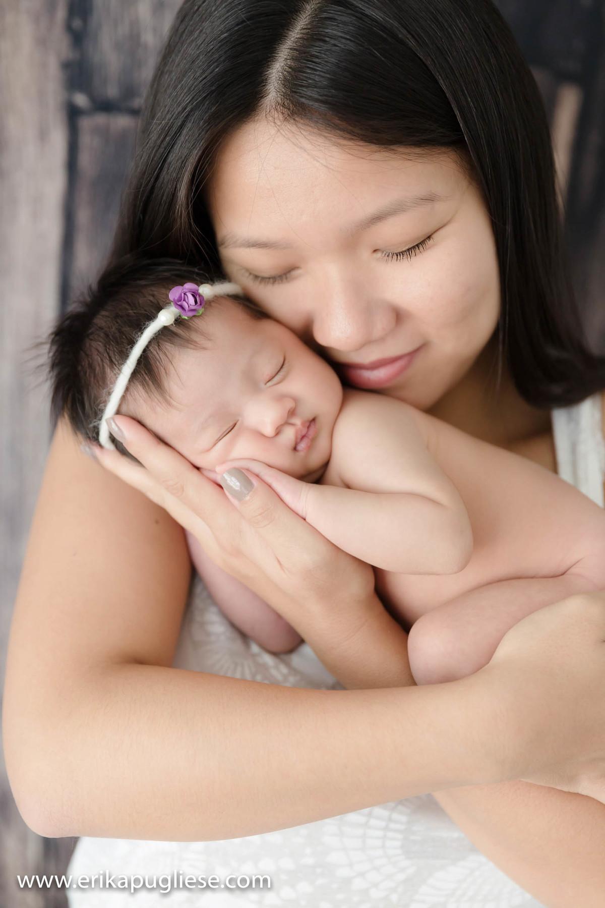 Maju e Mamãe Ensaio Newborn