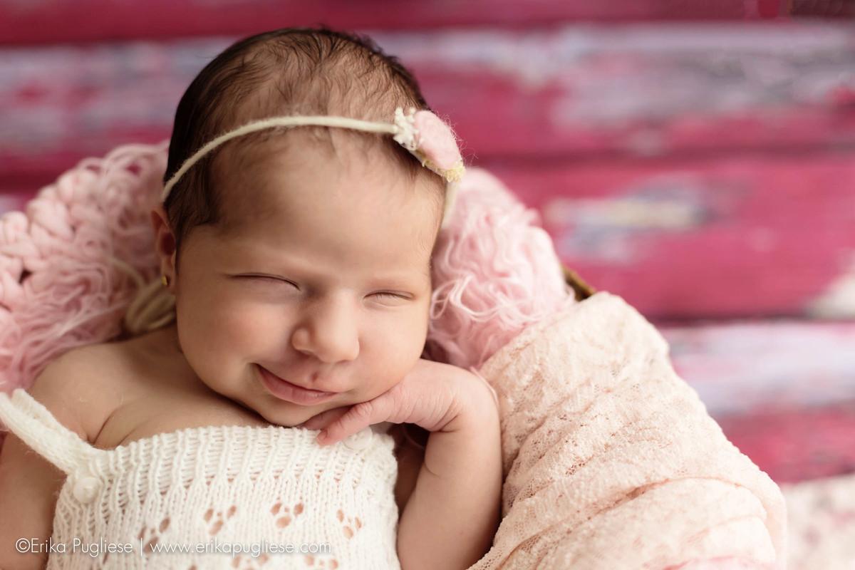 sorriso da clara. Ensaio newborn