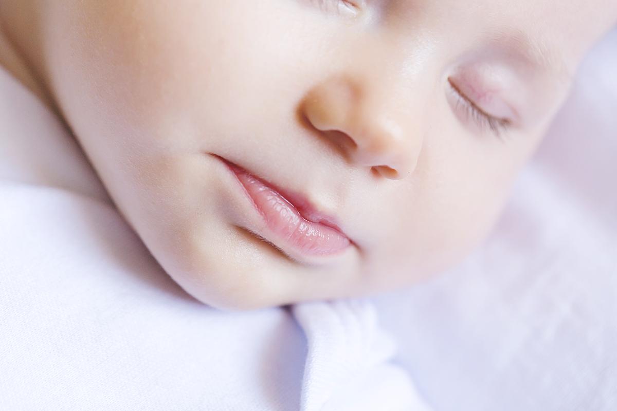 Detalhe na boquinha da Isadora. Uma das minhas fotos preferidas