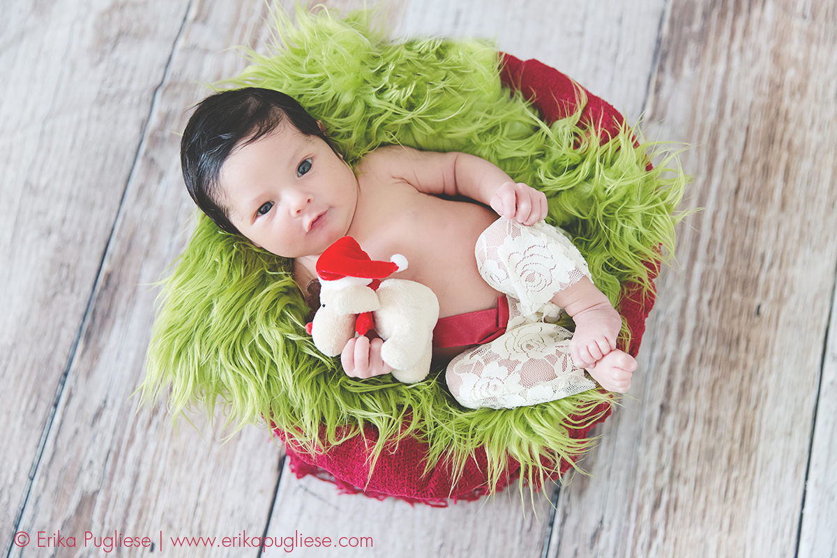 acordada pra animar a sessão newborn.