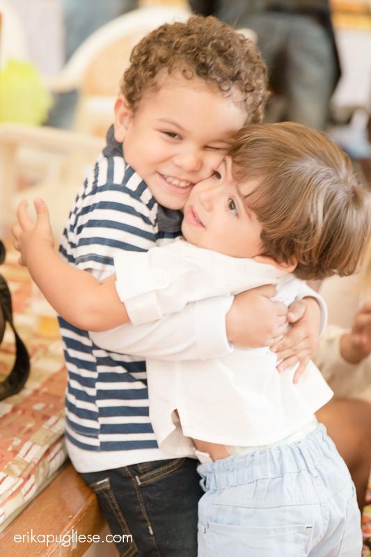 Fotografia de Evento Aniversário Infantil. Bernardo e seu amigo