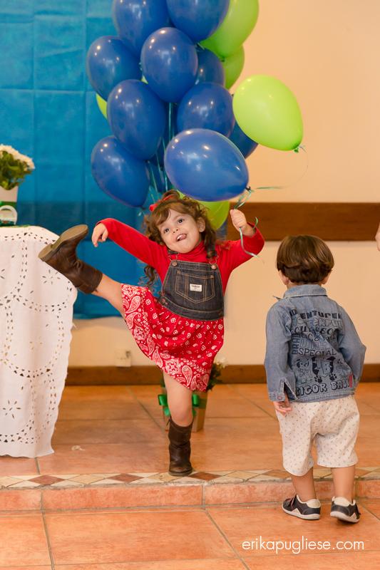 Ela vai voar. Fotografia de Evento Aniversário Infantil.