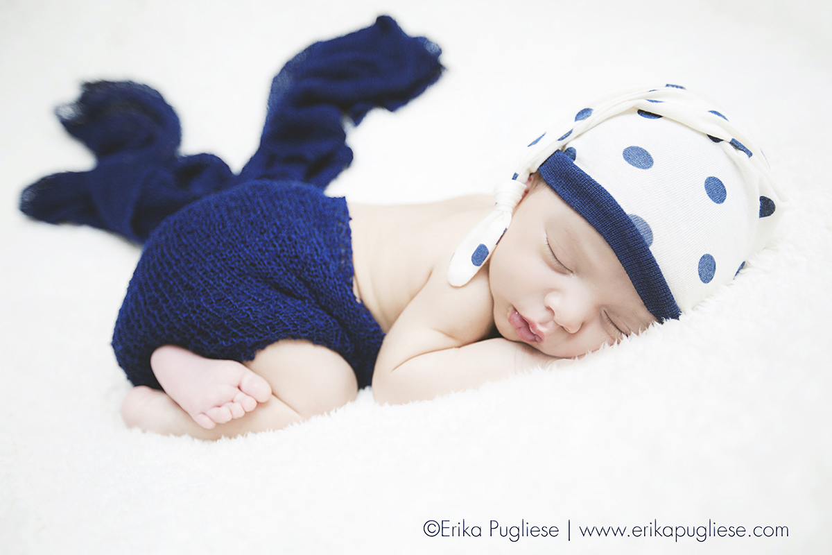 Fotografia newborn Pietro Recém nascido