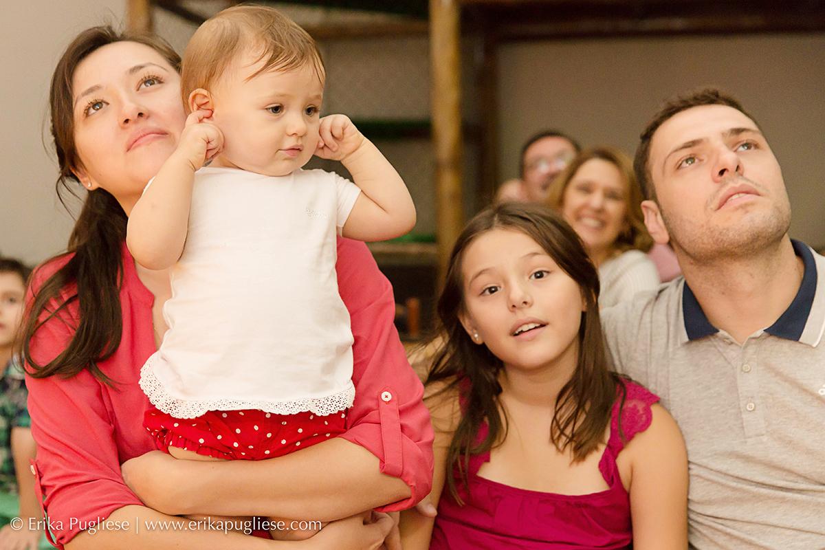 Aniversário Infantil Laura - 1 ano  Fotografia Quietos, tá muito barulho aqui