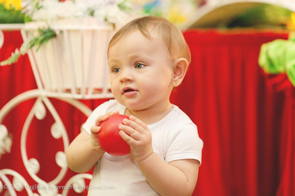 Fotografia Laurinha charmosa Aniversário Infantil Laura - 1 ano