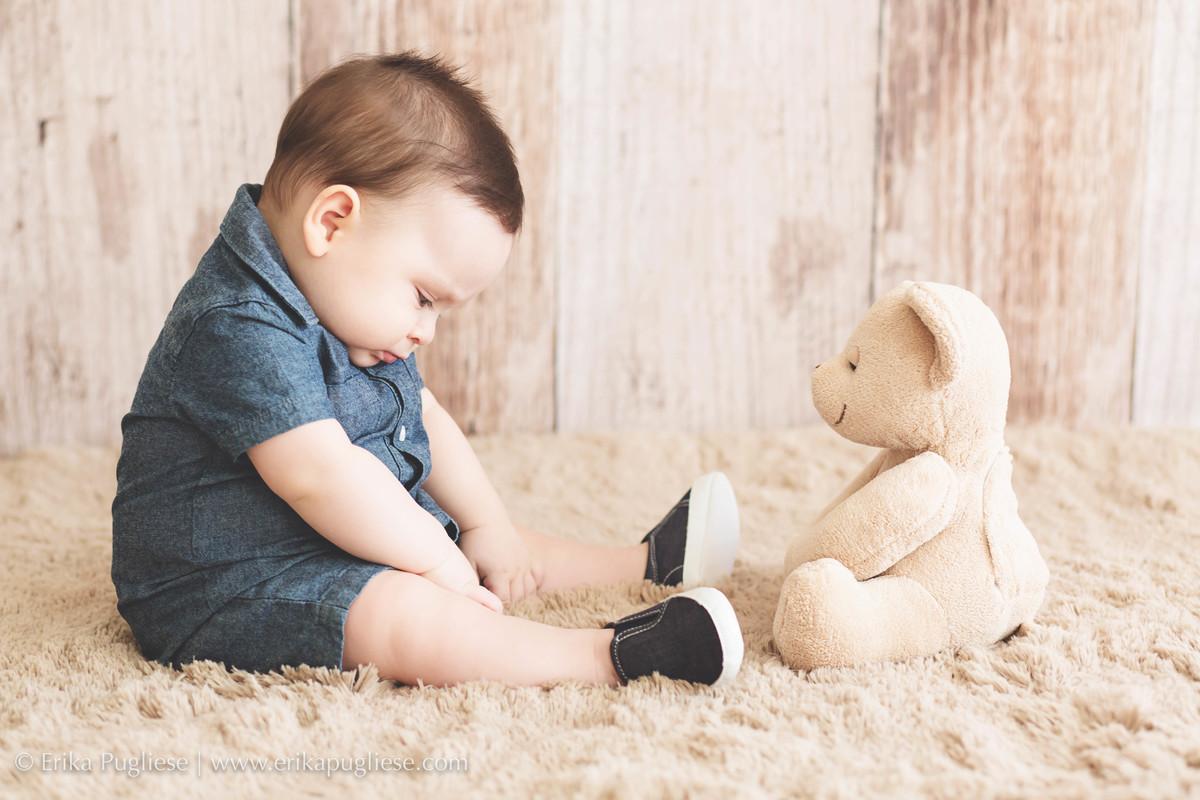 Ensaio infantil Pedro 9 meses