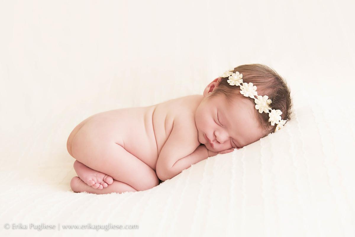 Malu linda toda princesa no ensaio newborn mais fofo e cheio de emoção