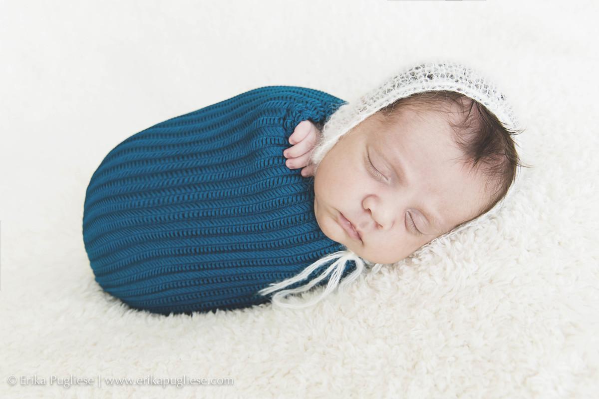 Pacotinho de amor. Este bebê Oliver é lindo demais