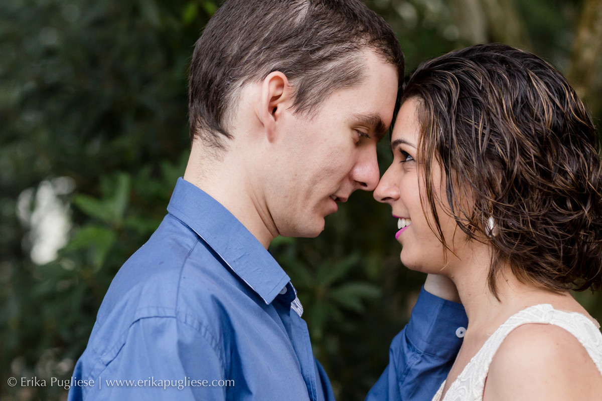 Chega mais. fotografia do casal no parque