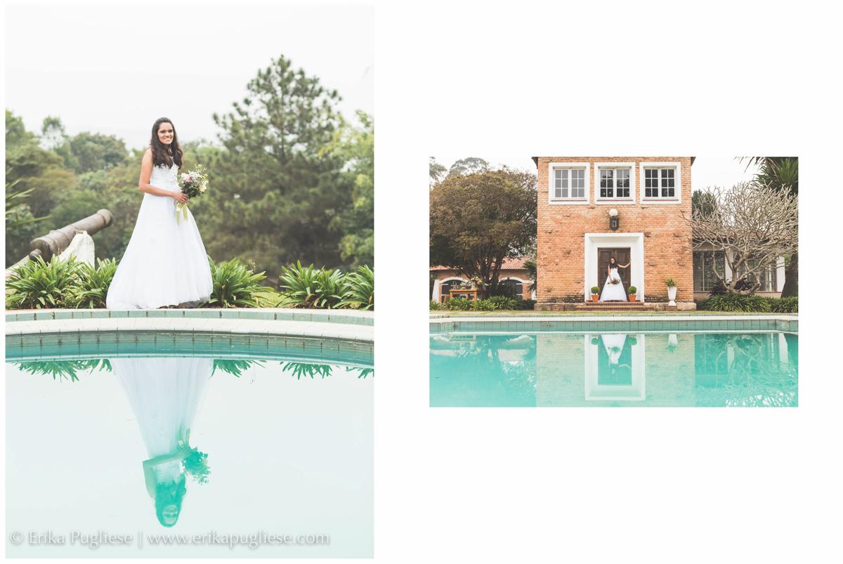 A casa e a porta preferida da noiva