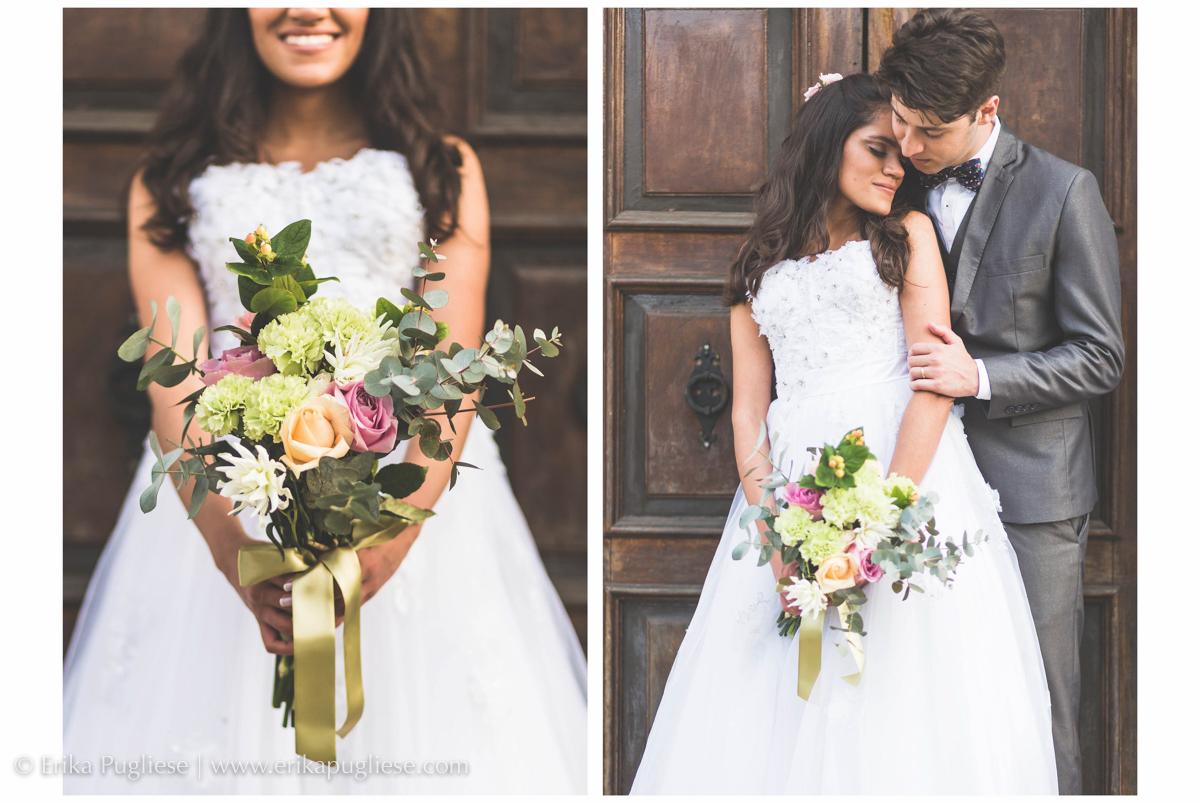 o bouquet da noiva ficou lindo feito pela The History box