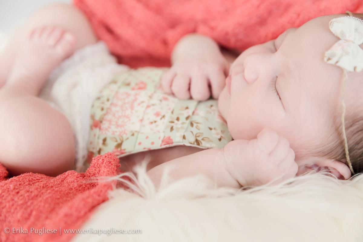 Princesa Larissa, bebê no ensaio de recém nascido