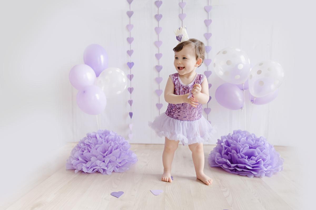 Fotografia infantil e de bebês no estúdio Erika Pugliese