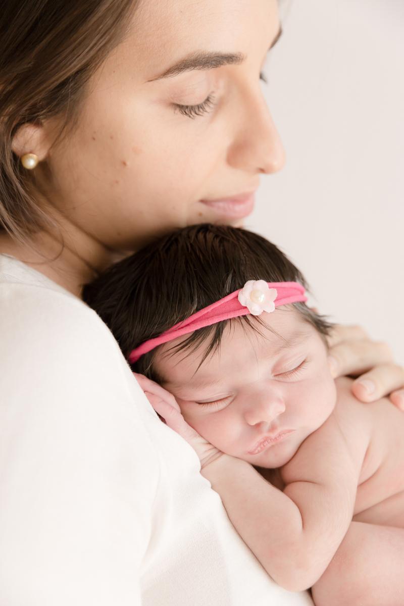 mamãe e bebê em ensaio fotográfico em SP