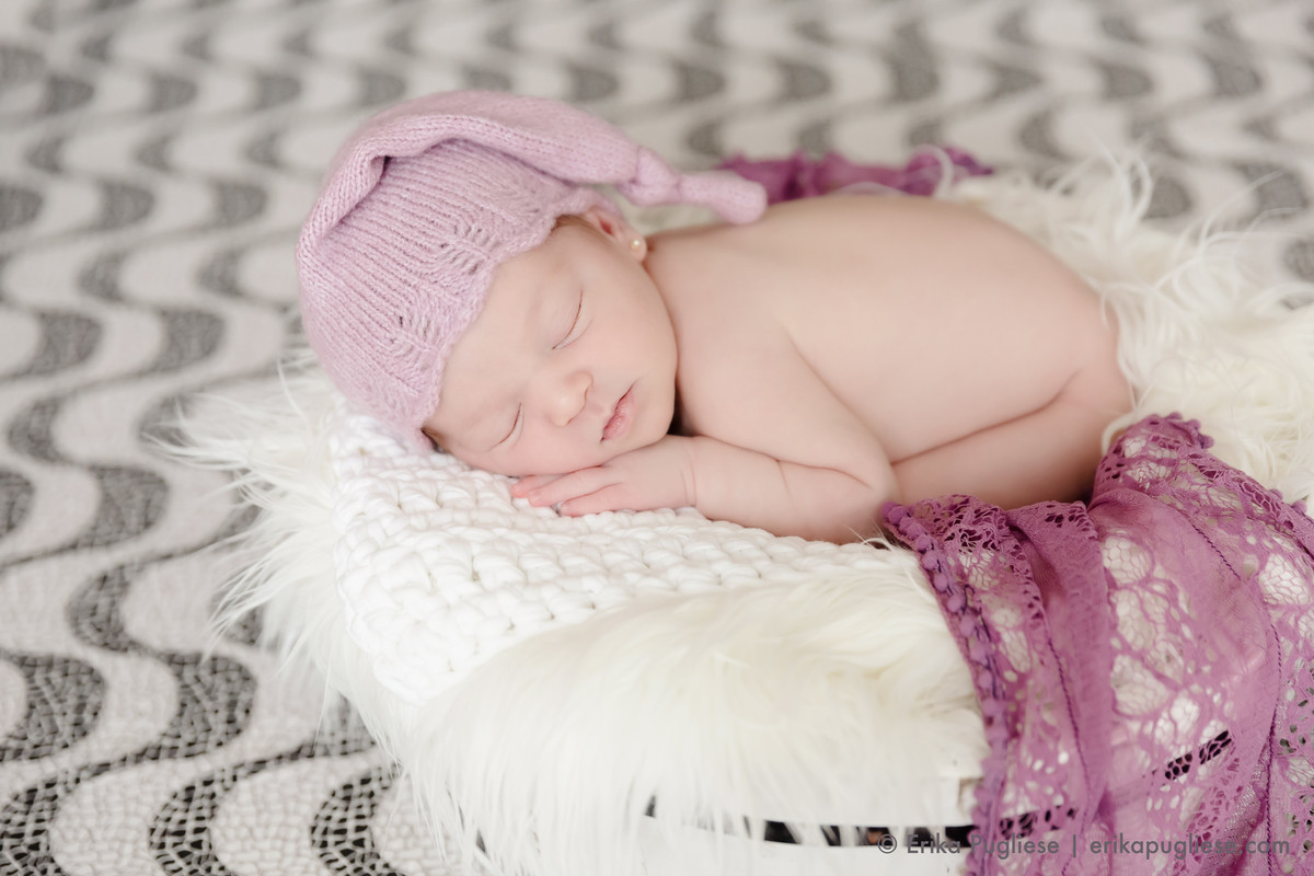Bella carioca paulista em seu ensaio newborn
