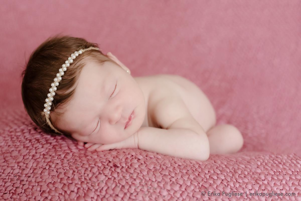 Newborn da recém nascida Bella