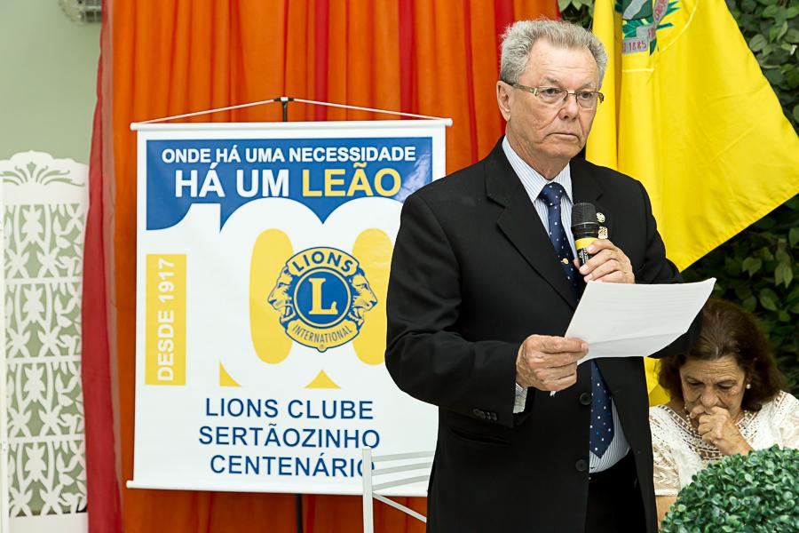 Foto de Posse Novo Associado Lions Clube Sertãozinho Centenário