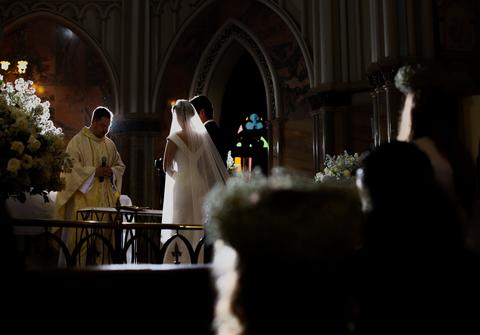 Wedding de Casamento Belo Horizonte - Igreja Matriz - Natália & Tiago