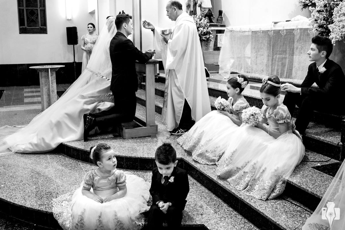 casamento muito emocionante