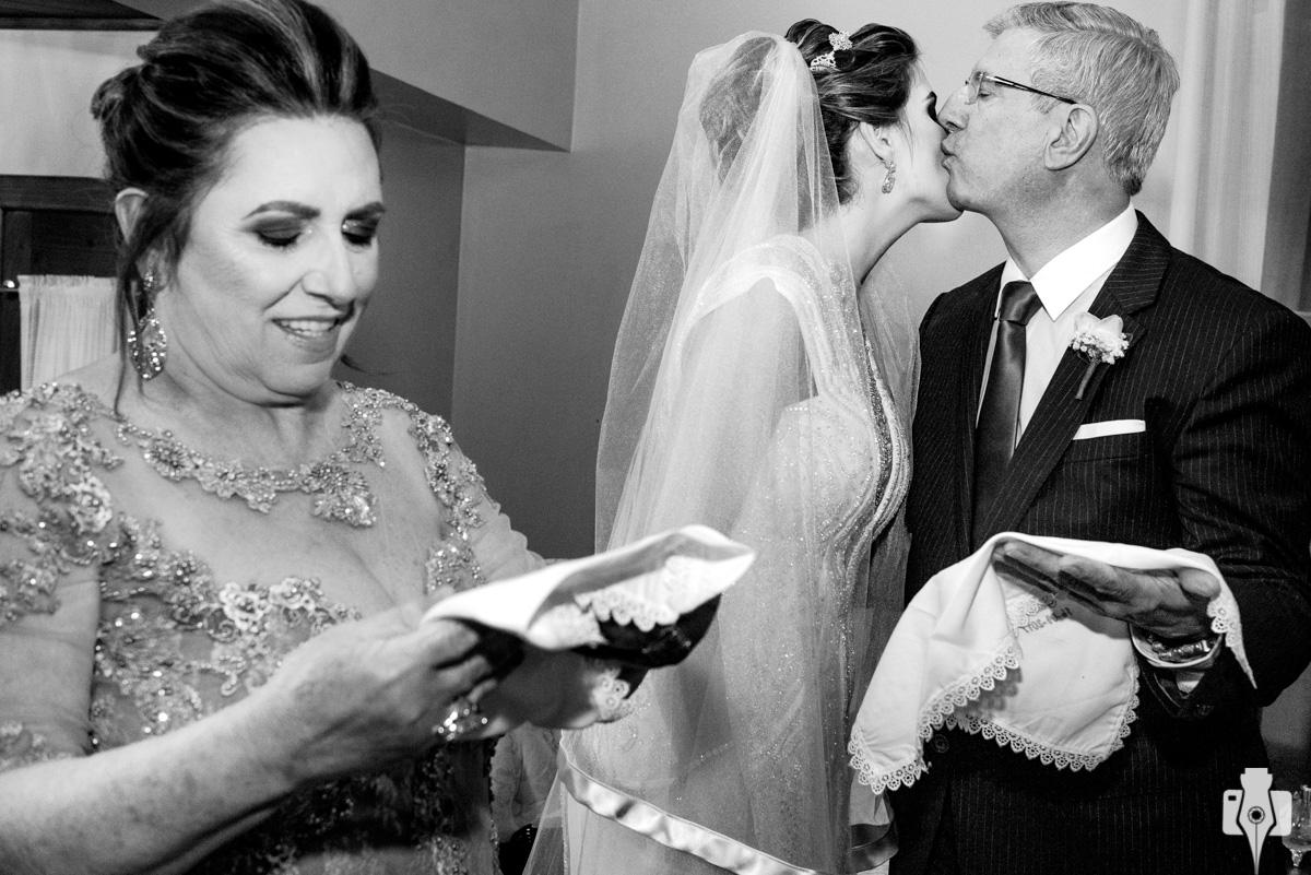 os noivos são uns queridos