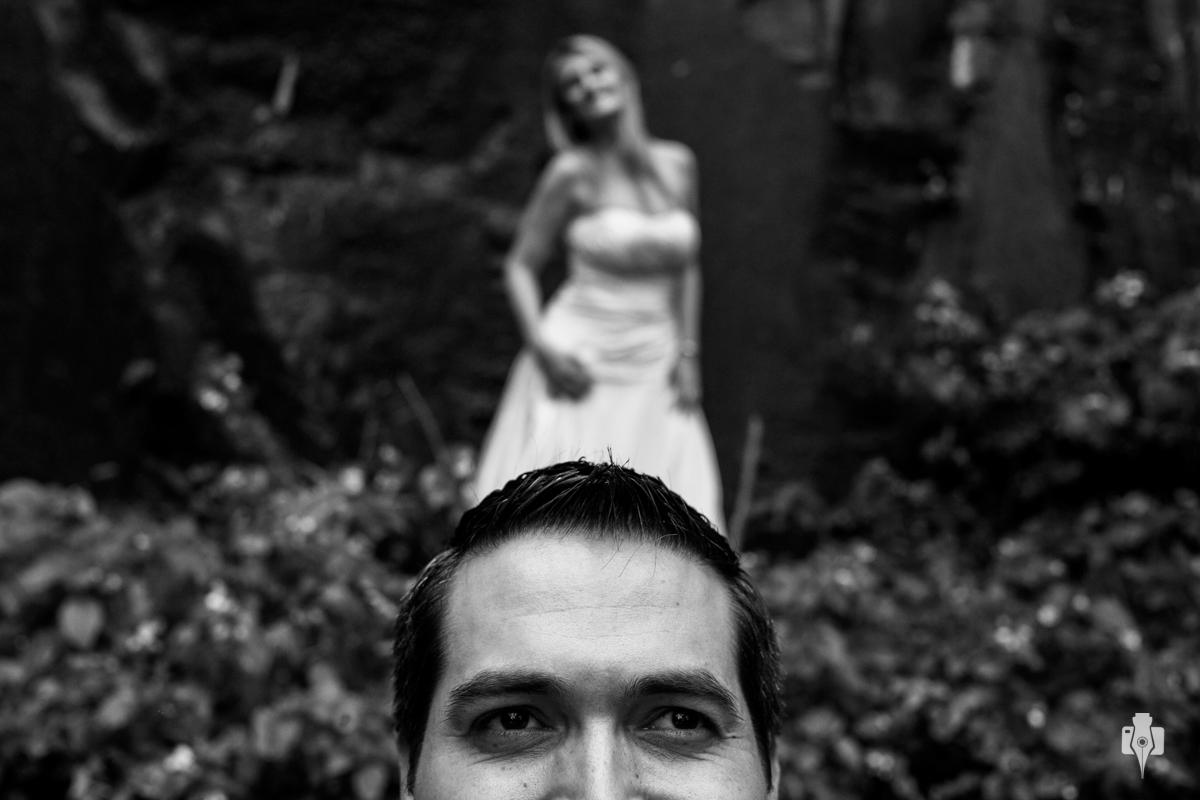 trash the dress com casal vestido de noivos em nova hartz rs