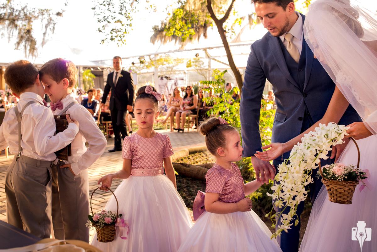 cerimônia de casamento externa