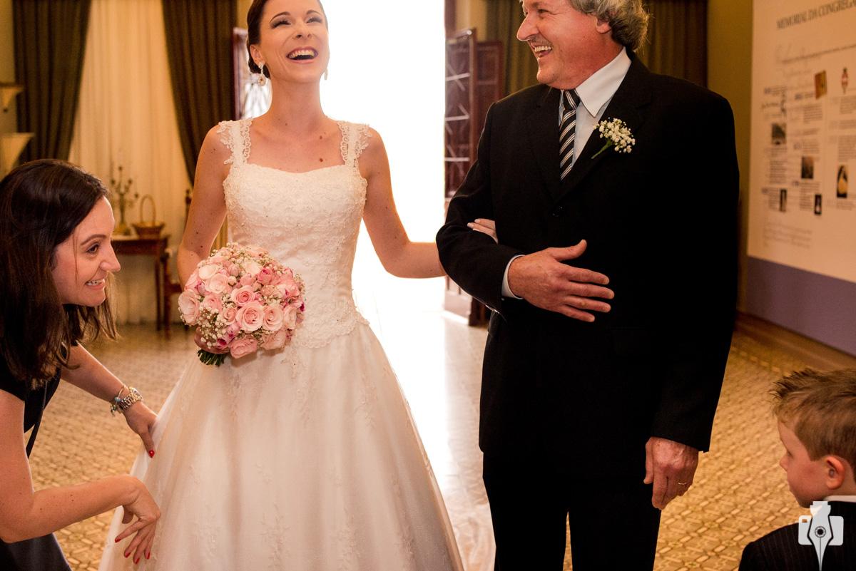 mini casamento em igreja diferente