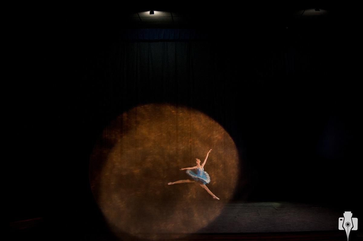 ensaio de bailarina