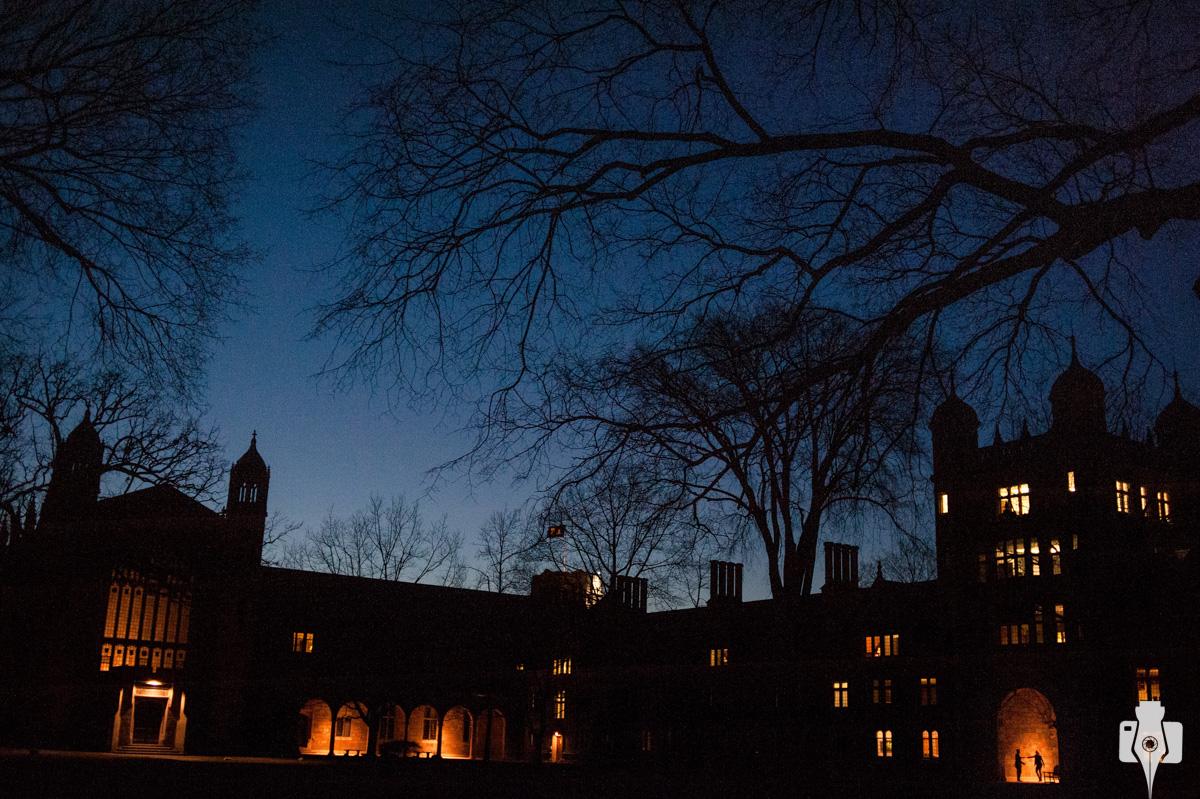universidade de Michigan cenário para fotos
