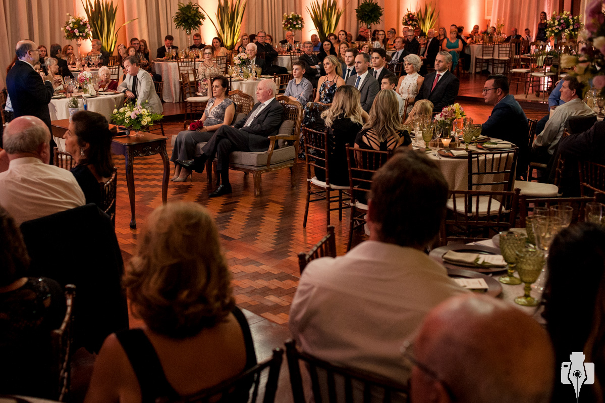 cerimonia de bodas de ouro
