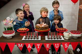 Infantil de Aniversário de 2 anos de Mateus