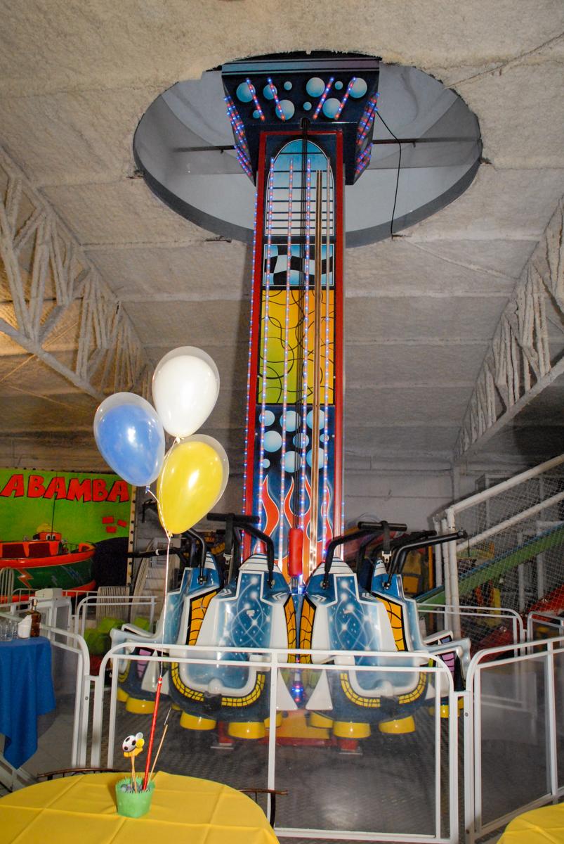 Buffet Fábrica da Alegria, Osasco, Sao Paulo, tema da festa esportes americanos, aniversariante Matheus 8 anos