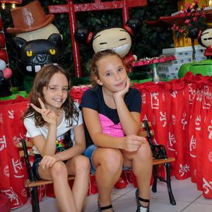 FESTA INFANTIL de Cecília e Luísa 9 anos