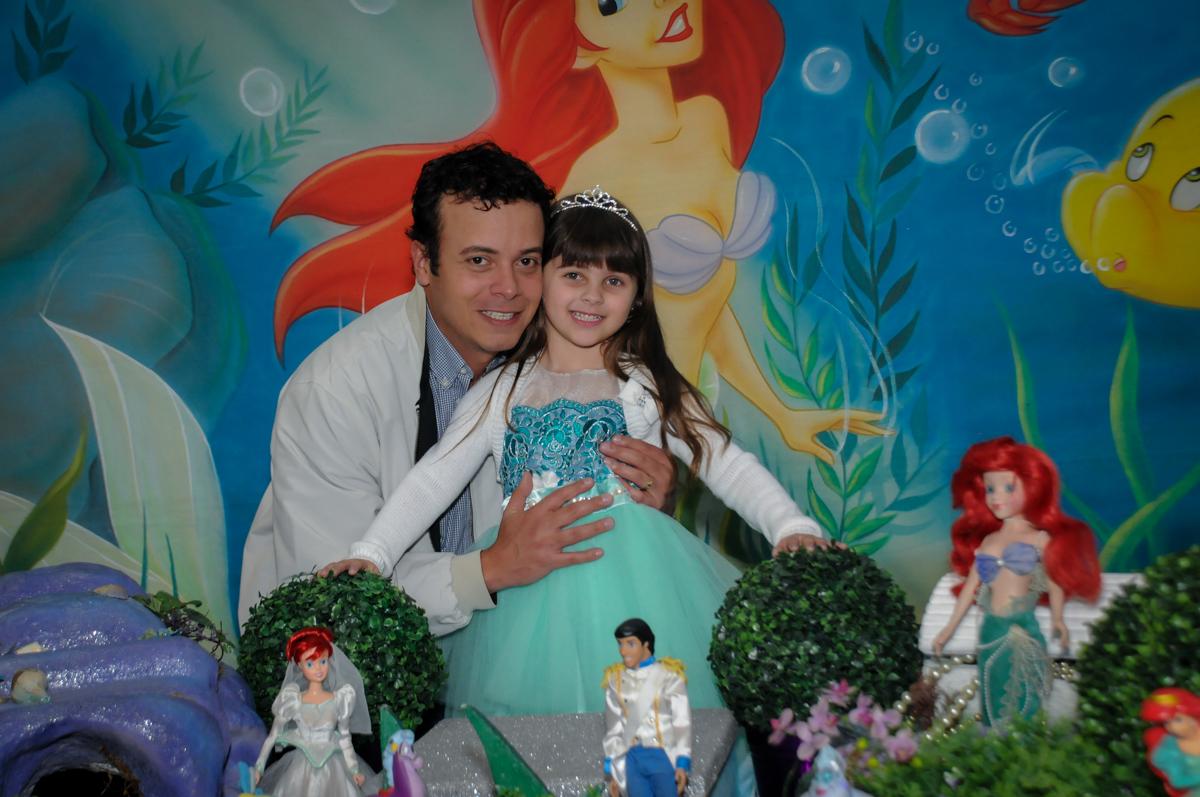 foto pai e filha no buffet comics,são paulo,sp