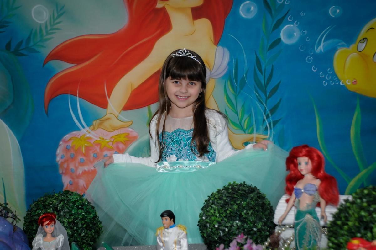 pose de princesa para a foto no buffet comics,são paulo,sp