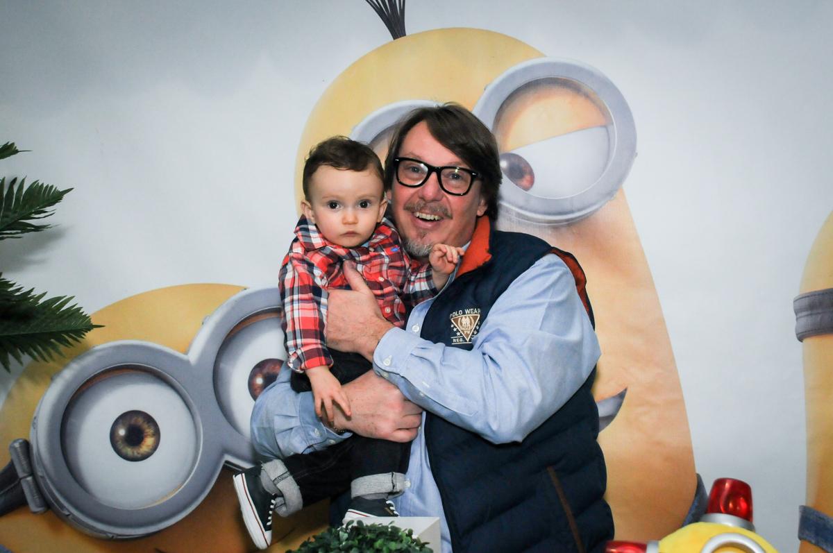 fotografia pai e filho no Buffet Fábrica da Alegria, Morumbi, São Paulo, SP